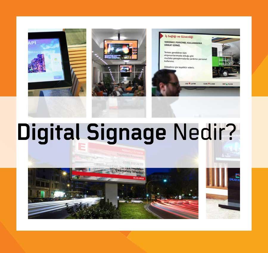 Digital Signage Nedir?