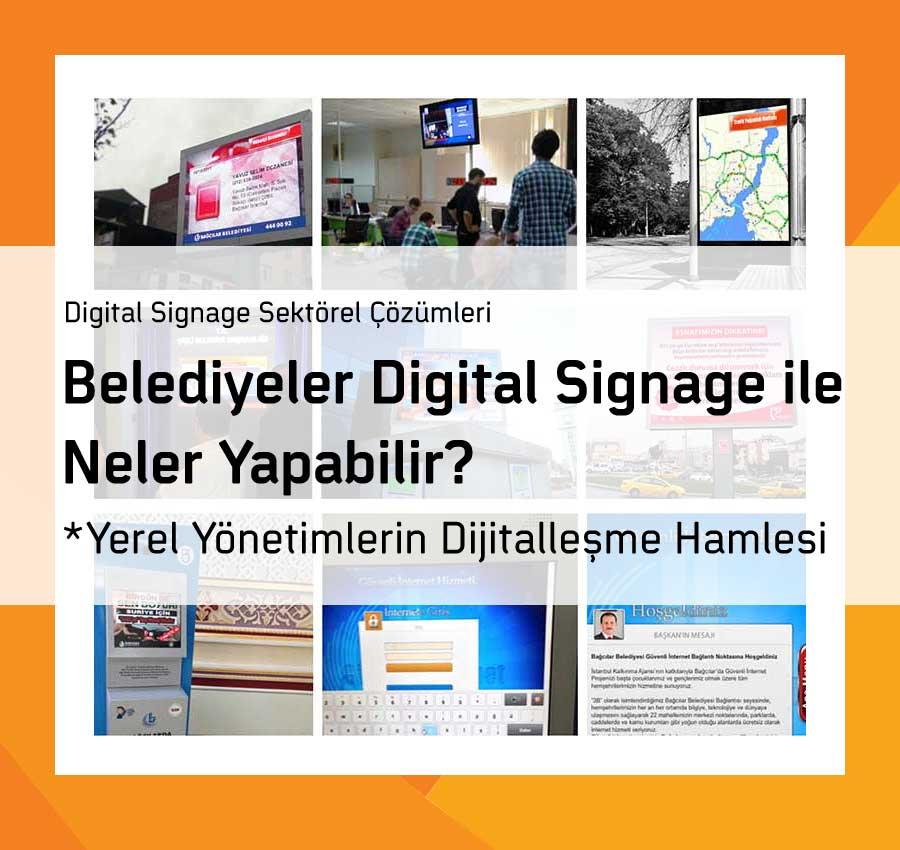 Belediyeler Digital Signage ile Neler Yapabilir?