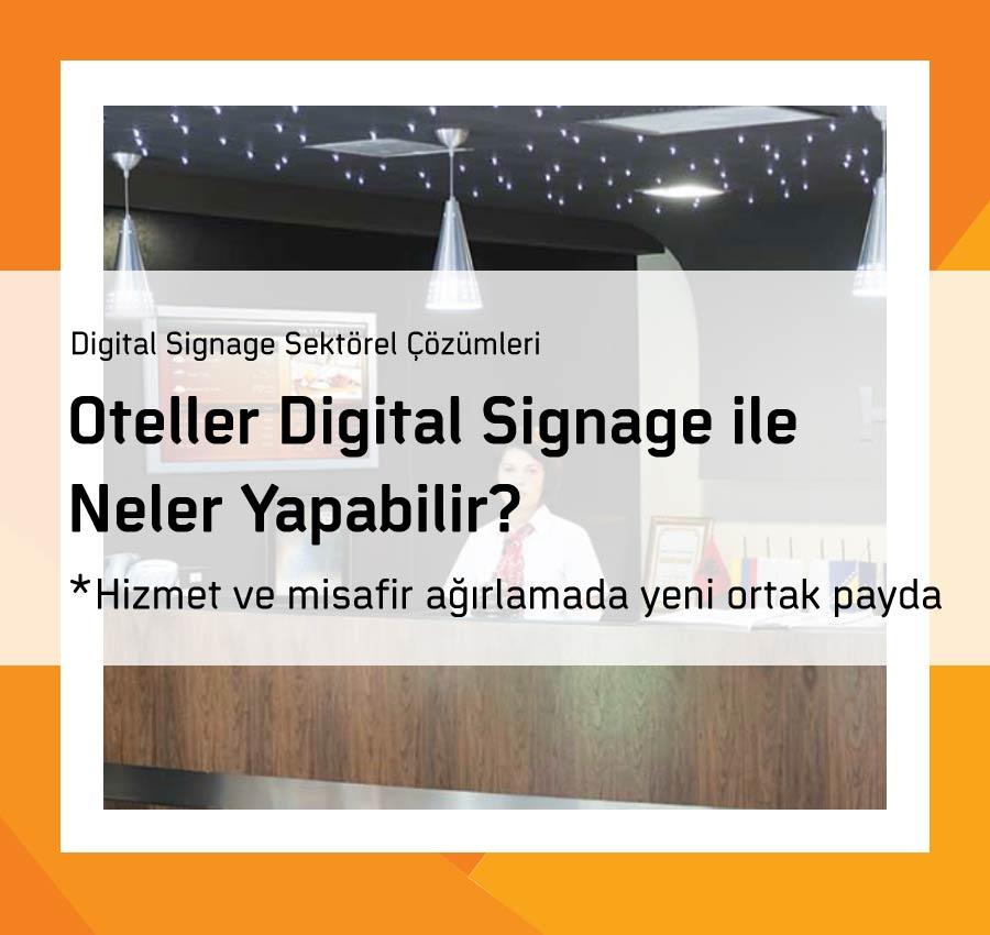 Oteller Digital Signage ile Neler Yapabilir?