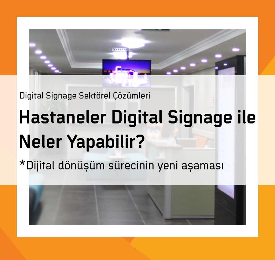 Hastaneler Digital Signage ile Neler Yapabilir?