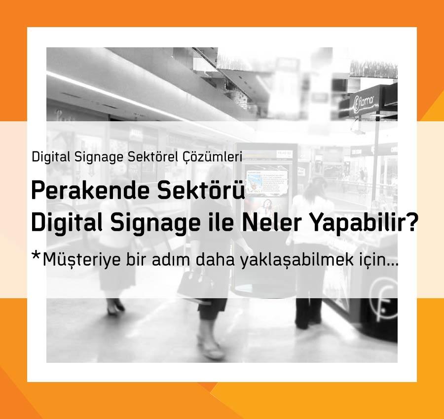 Perakende Sektörü Digital Signage ile Neler Yapabilir?