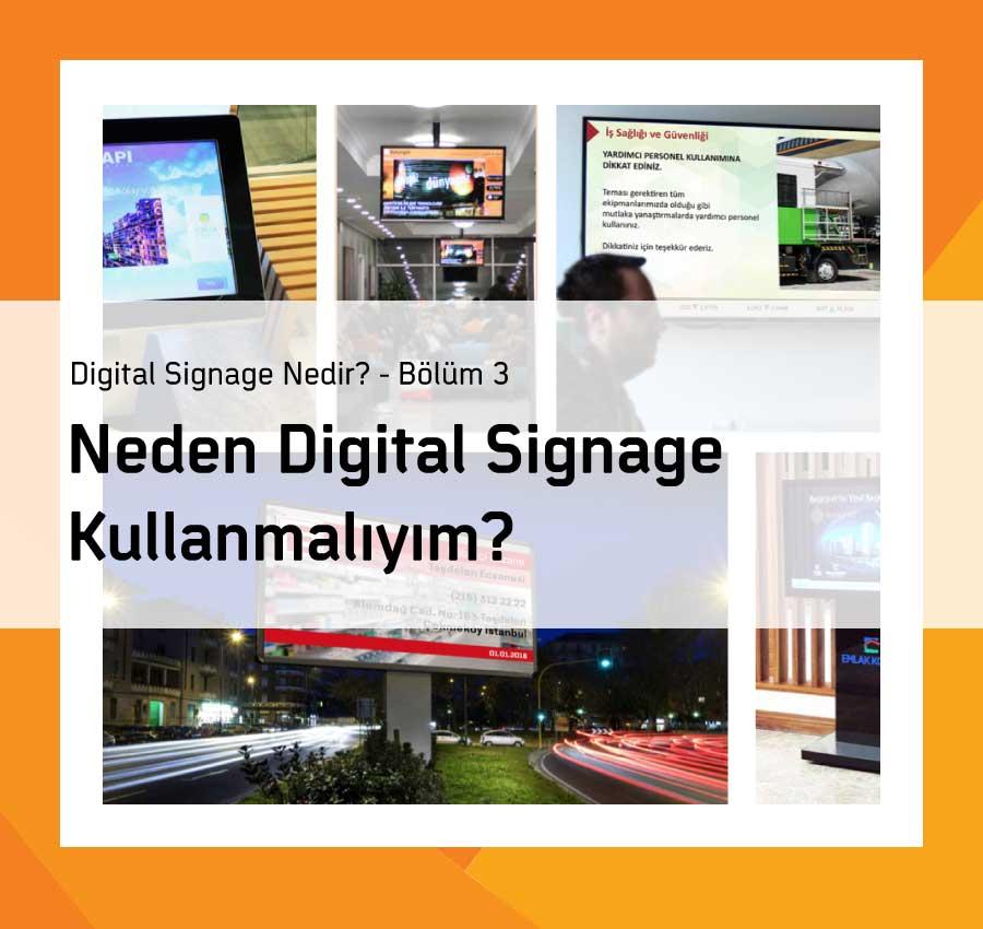 Neden Digital Signage?